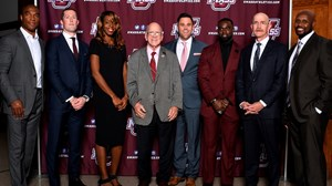 2018 UMass Hall of Fame Class Ryan Bamford George Burke