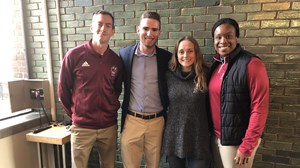 2018 UMass Fall Scholar-Athletes