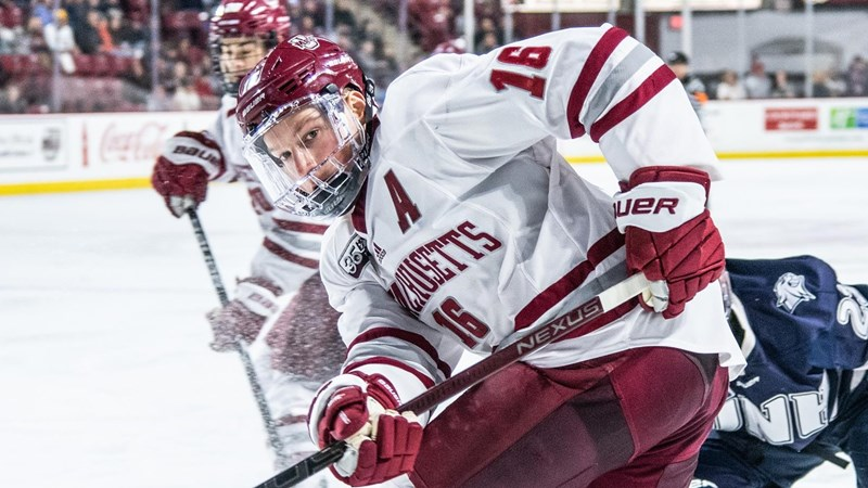 Makar Tabbed Co-Hockey East Player Of The Week - University of Massachusetts Athletics