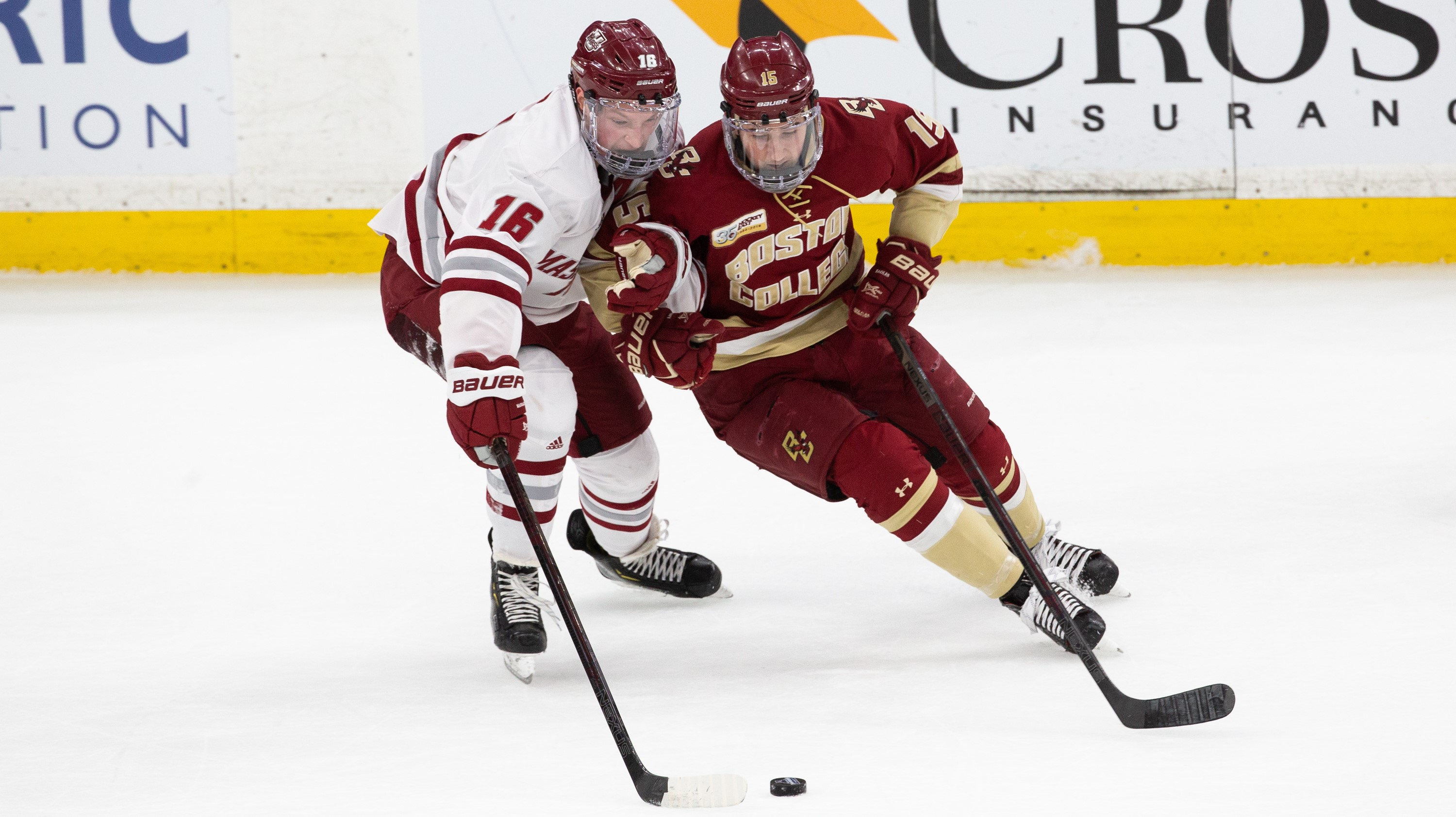 No  3/2 UMass Falls To Boston College, 3-0 In Hockey East
