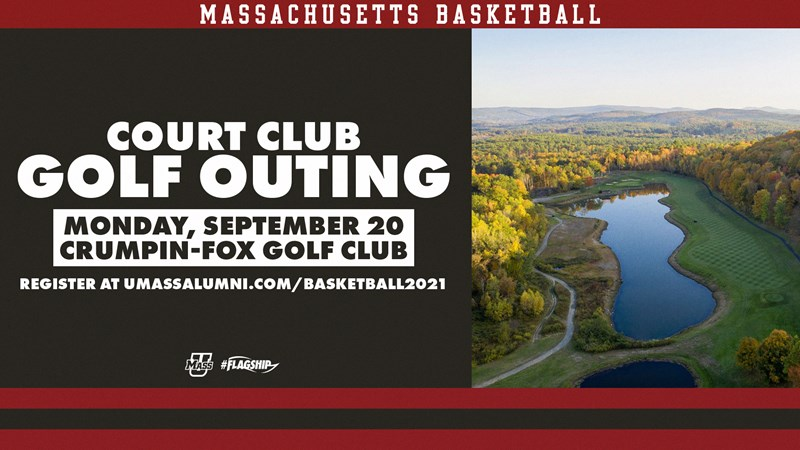 Register Now For the Court docket Membership Golf Outing! – College of Massachusetts Athletics